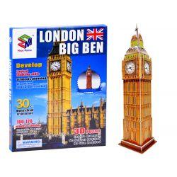 3D Puzzle Big Ben, 30 dielov