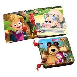 Drevené kniha Máša a Medveď