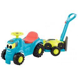 Odrážadlo Traktor s vlekom a kosačkou