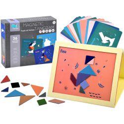 Magnetické puzzle Tangram