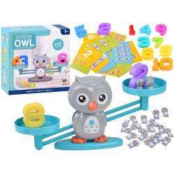 Vzdelávacia hra – balančná Sova