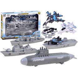 Set lodí – námorná bitka