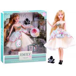 Bábika Emily v kokteilových šatách