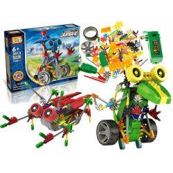 LOZ – JUNGEstavebnica robotické zvieratká + motor