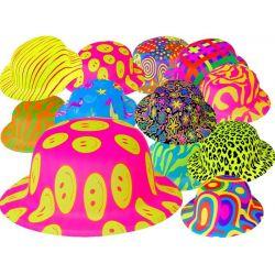 Farebné klobúky
