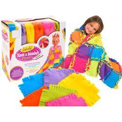 DIY – Urob si: Farebná patchworková deka