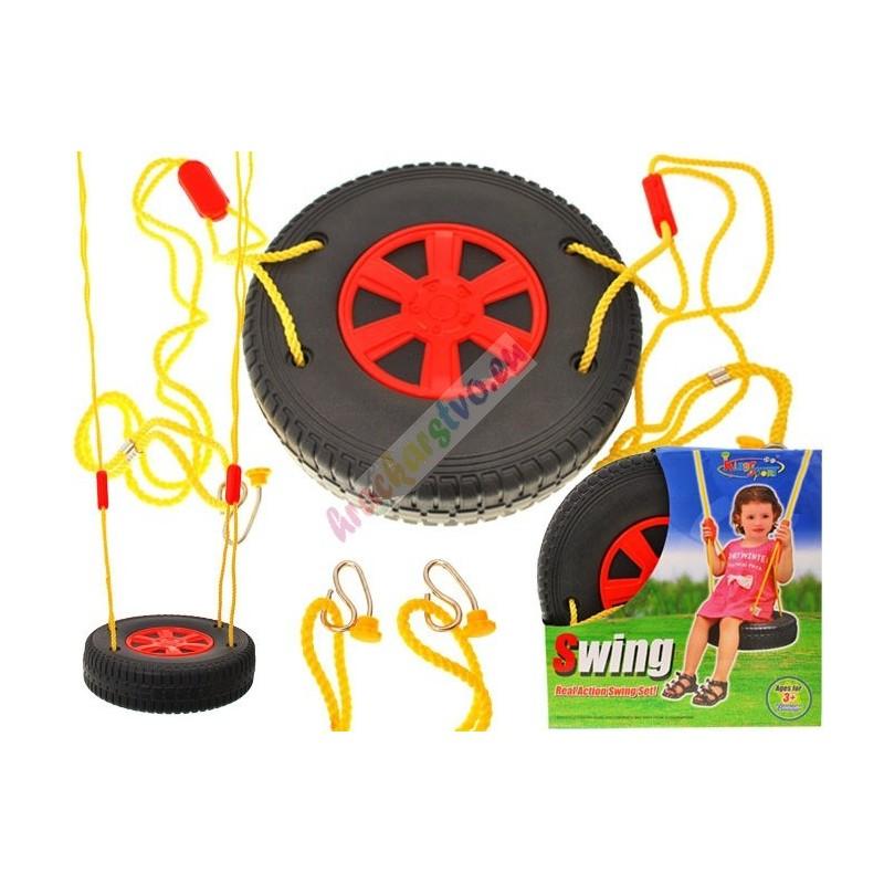 Závesná hojdačka pneumatika