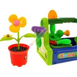 Záhradná sada v debničke