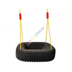 Veľká závesná hojdačka pneumatika – 2 miestna
