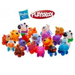 Zvieratká Playskool Wheel pats - 5 sád