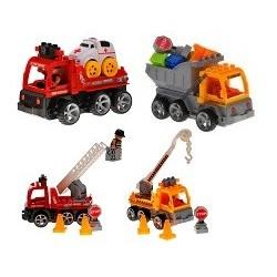 Skladacie hračky na diaľkové ovládanie - 4 modely