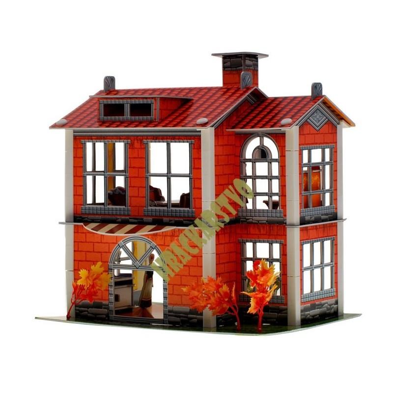 3D - dom, 3 varianty