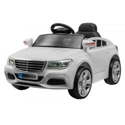 ELCARS športové elektrické autičko štýl Mercedes, multifunkčné diaľkové, kožená sedačka, EVA kolesá