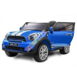 ELCARS elektrické autíčko Mini Cooper, kožená sedačka, multifunkčné diaľkové