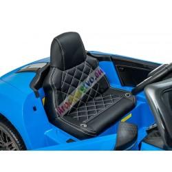 ELCARS elektrické autíčko AUDI R8 Spyder, licencia, kožená sedačka, EVA kolesá