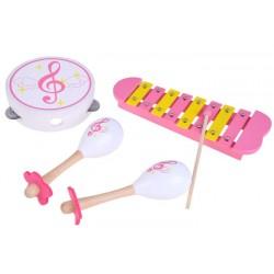 Drevené hudobné nástroje 3v1