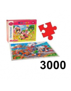 Puzzle 3000 dielikov