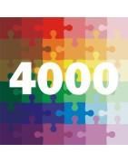 Puzzle 4000 Dielikov